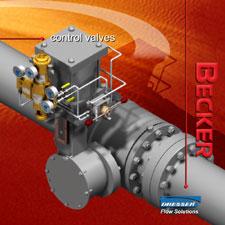 GE Dresser/Becker Precision   Actuators, Precision Pilots, Positioners, Ball Valve Regs, Instrument Filters