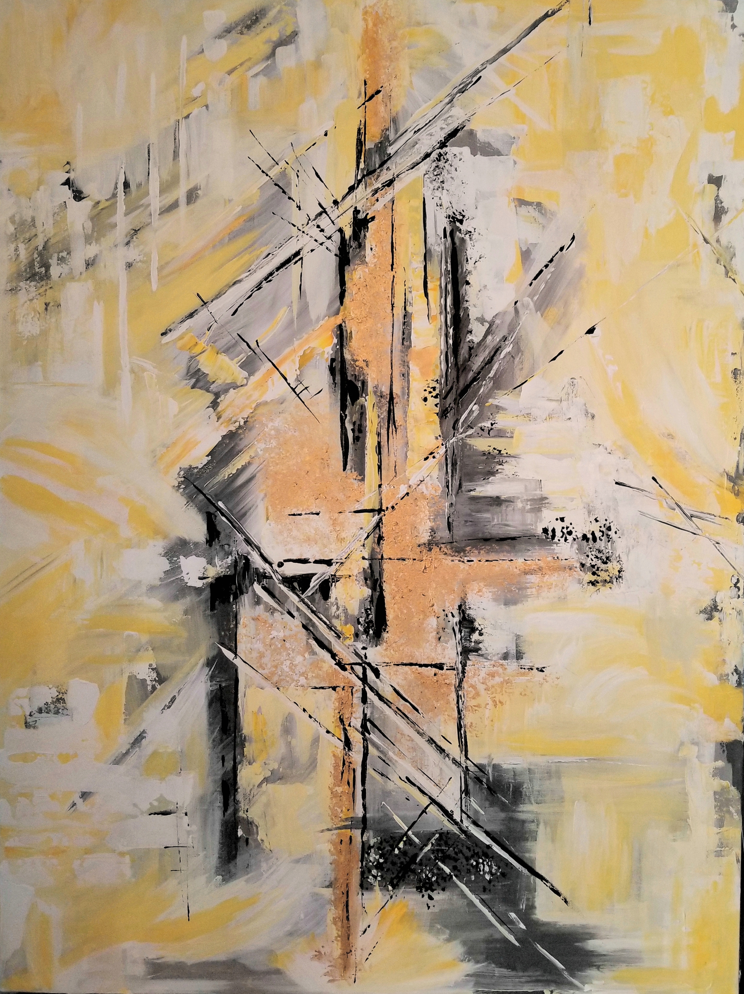 """Urban Life"" - 36"" x 48"" FramedContact: The Art Department14435 N. Scottsdale Rd. #300Scottsdale, AZ 85254480.596.9800"