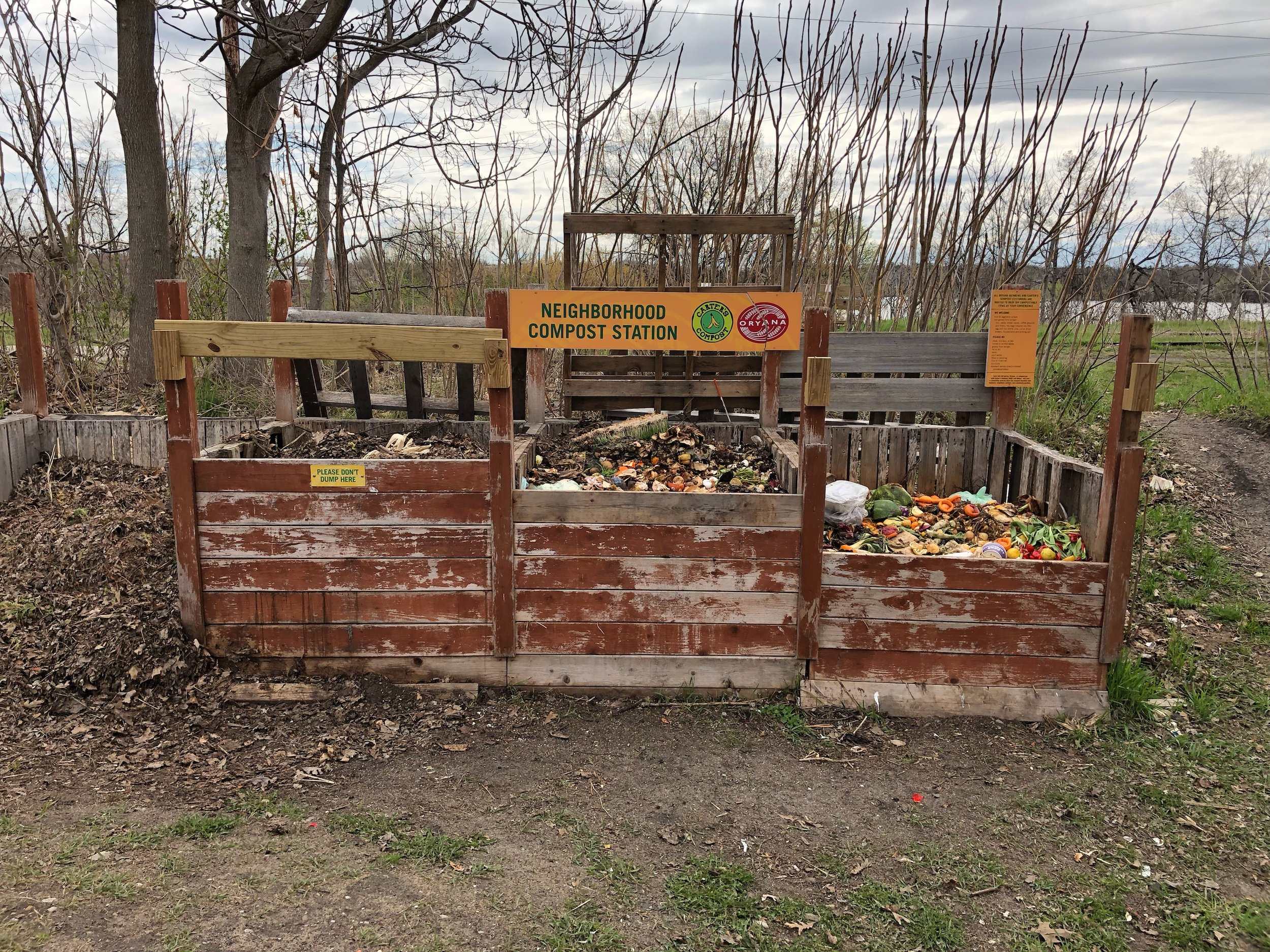 Here S An Idea Community Composting Stations Seedleaf