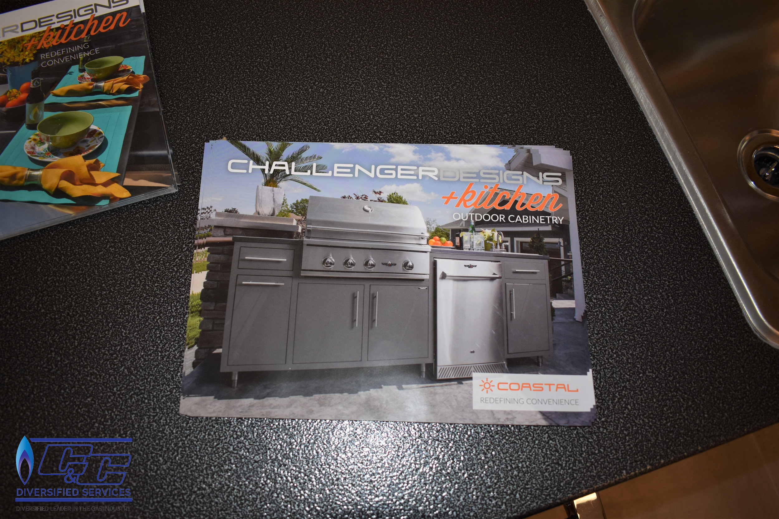 Challenger Designs & Kitchen Custom Options Outdoor Cabinetry