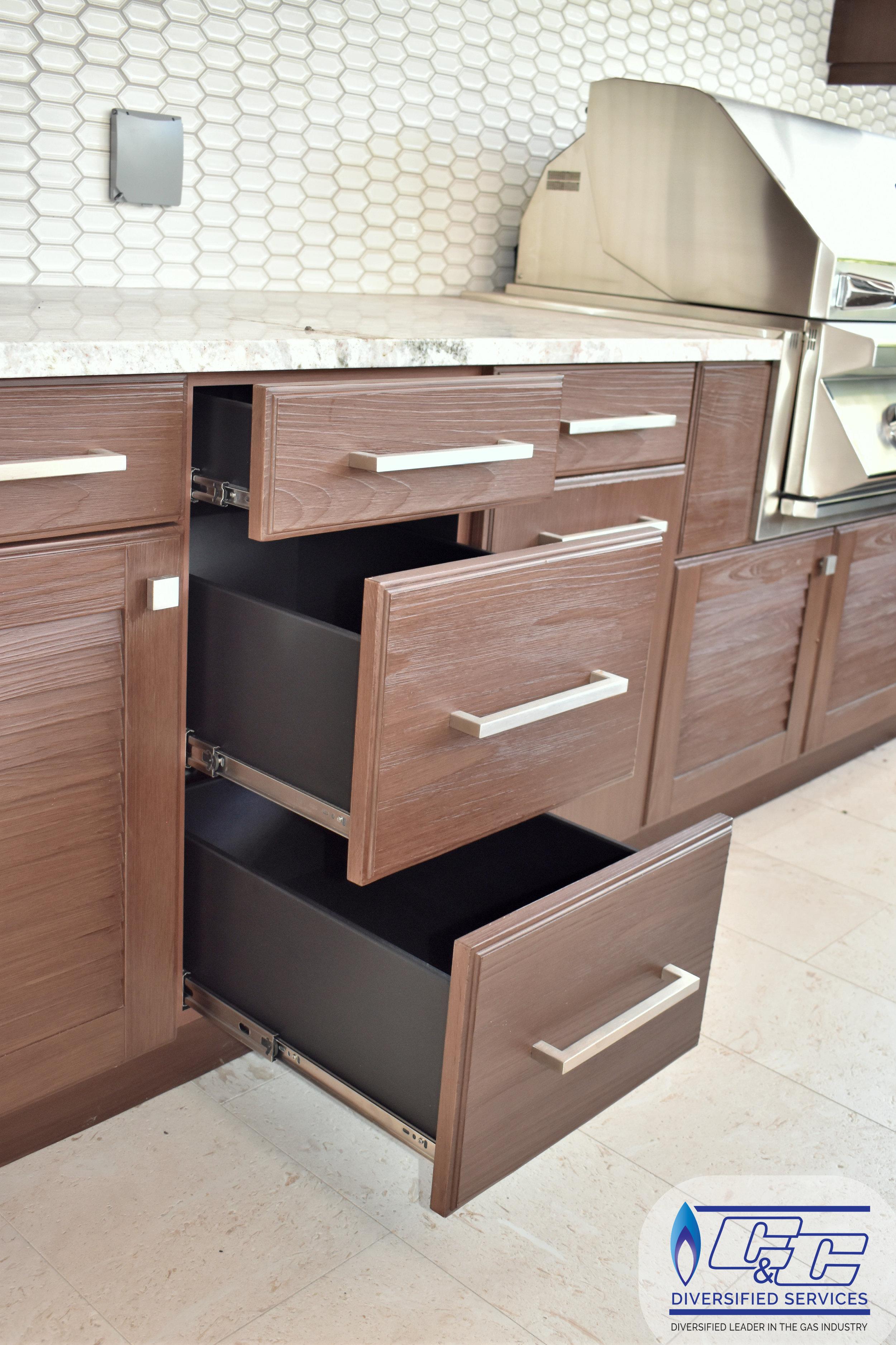 NatureKast Weatherproof Cabinetry - Drawers