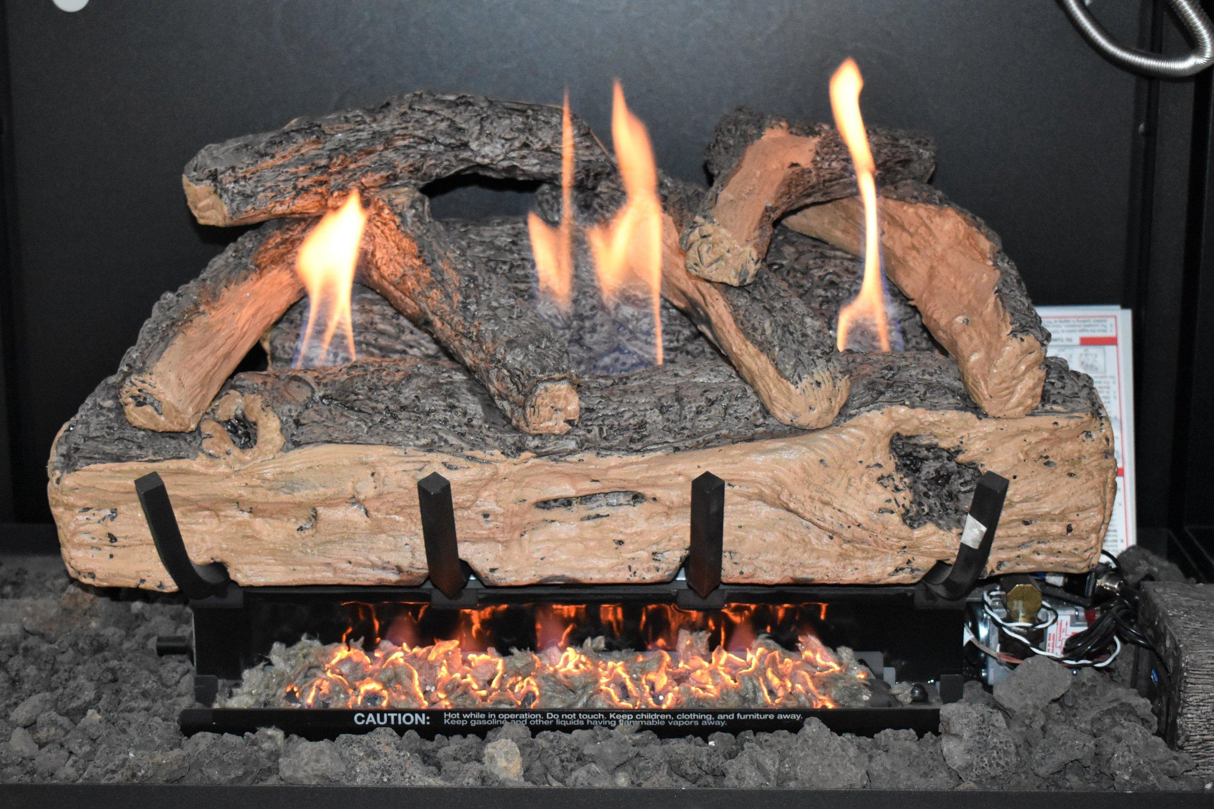 Vent Free Split Oak Log Set
