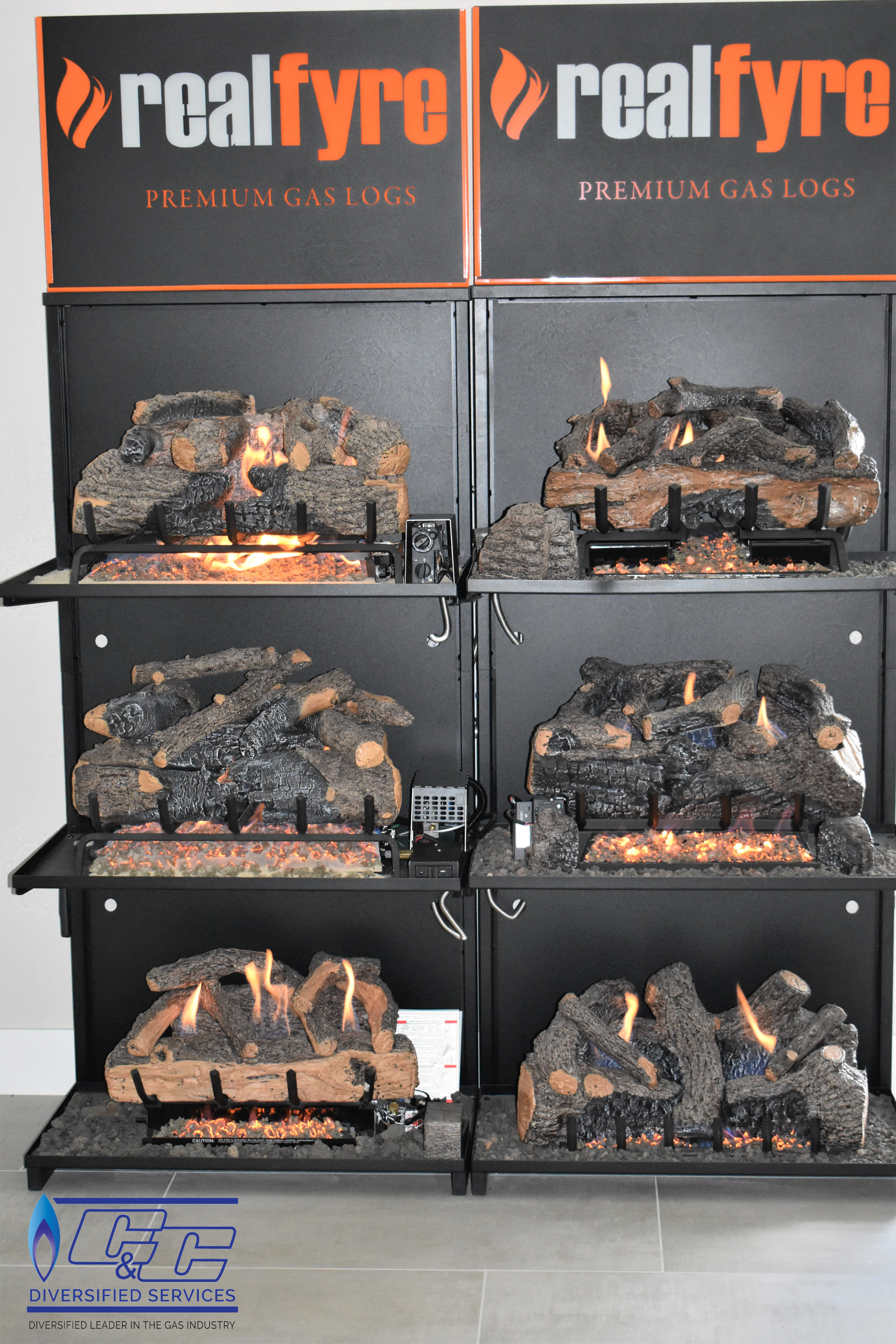 Gas Log Sets Crafted in the USA