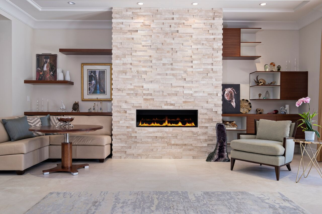 Linear Gas Fireplace