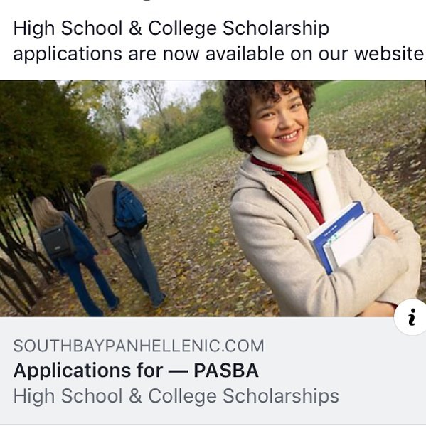 Scholarship applicants now available on our website. Link in bio. #panhellenic #sororitylife #scholarship #iamasororitywoman