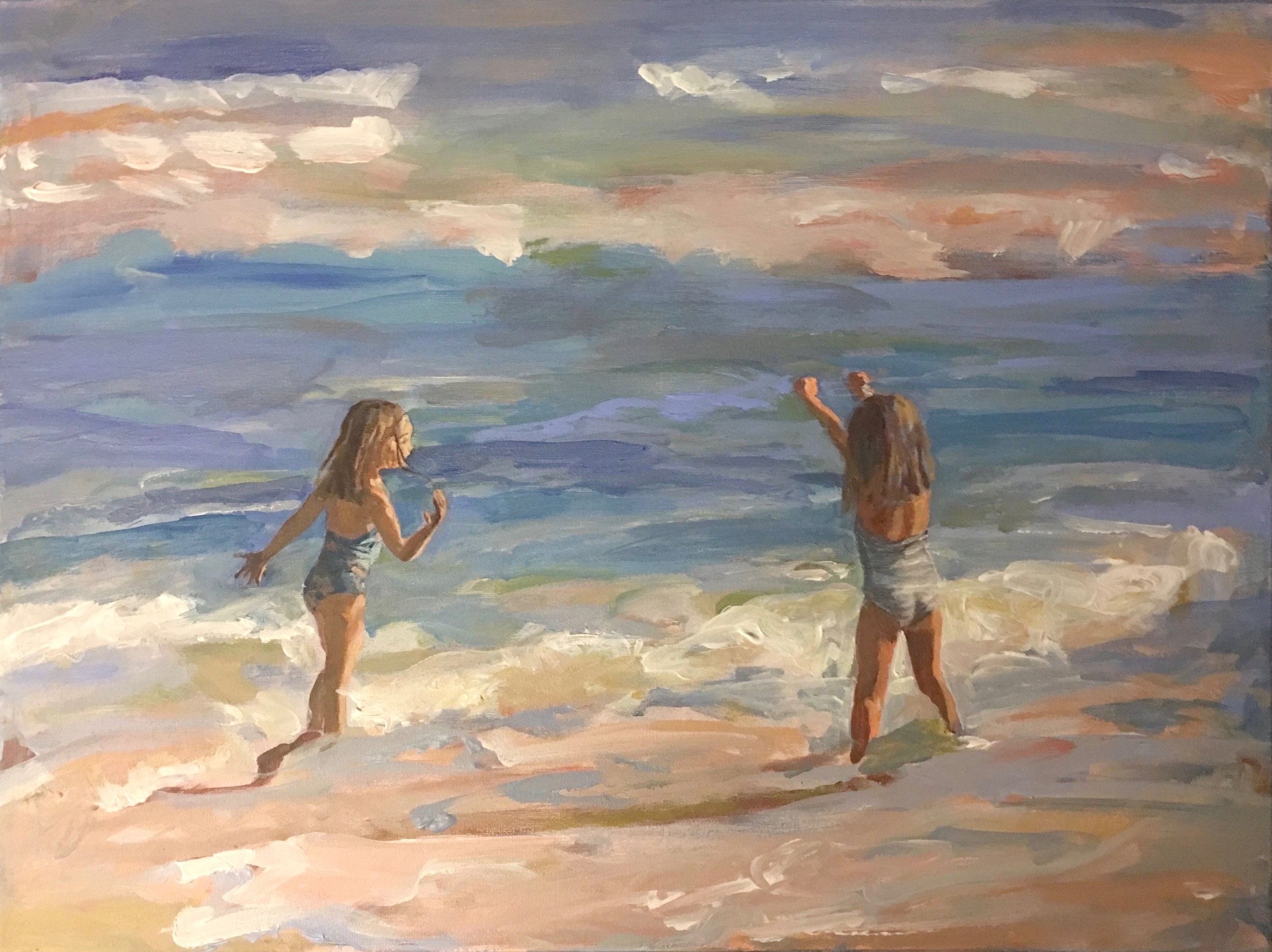 Sold- Commissioned Painting