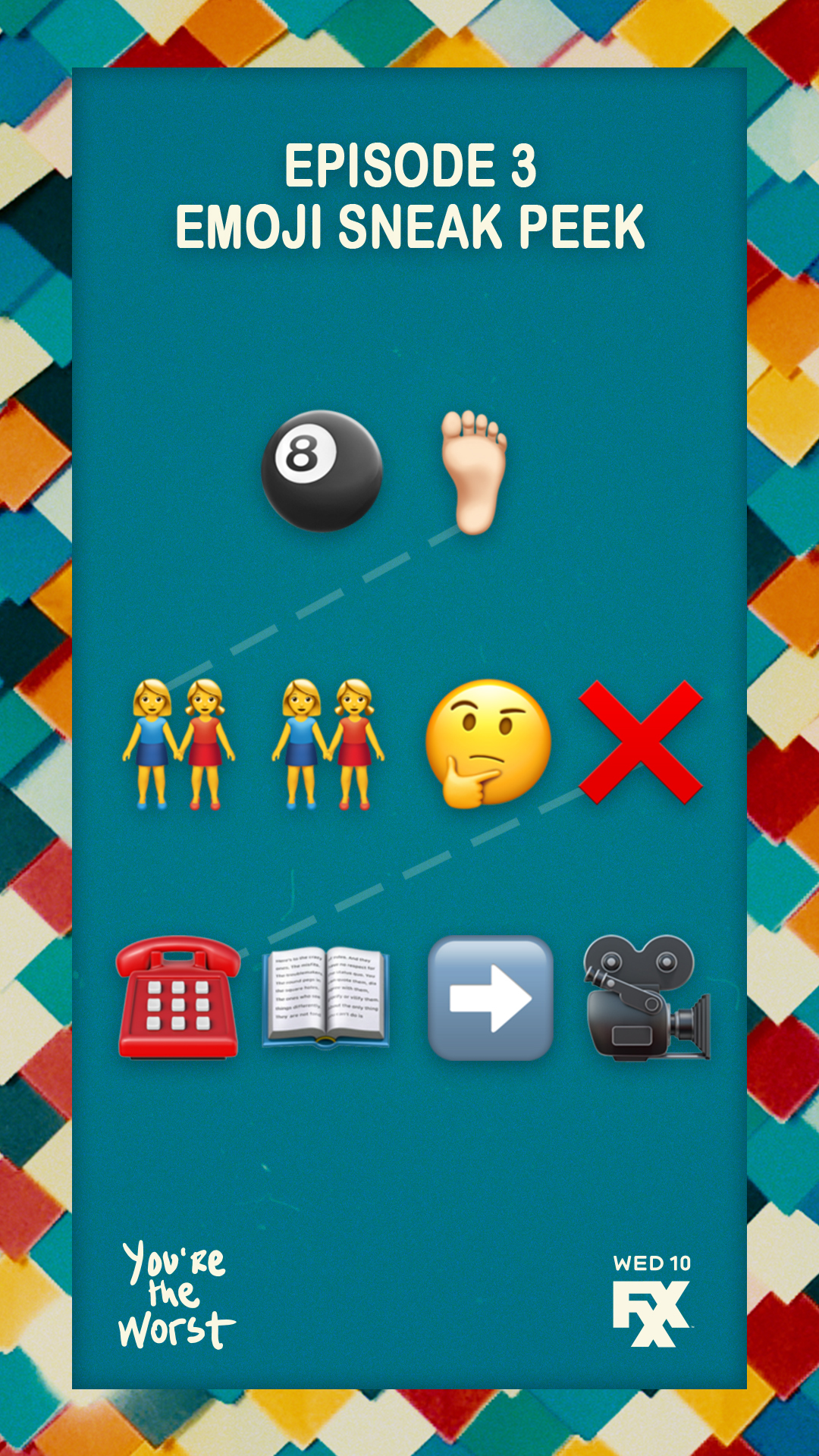 You're The Worst S5 - Emoji Preview Series