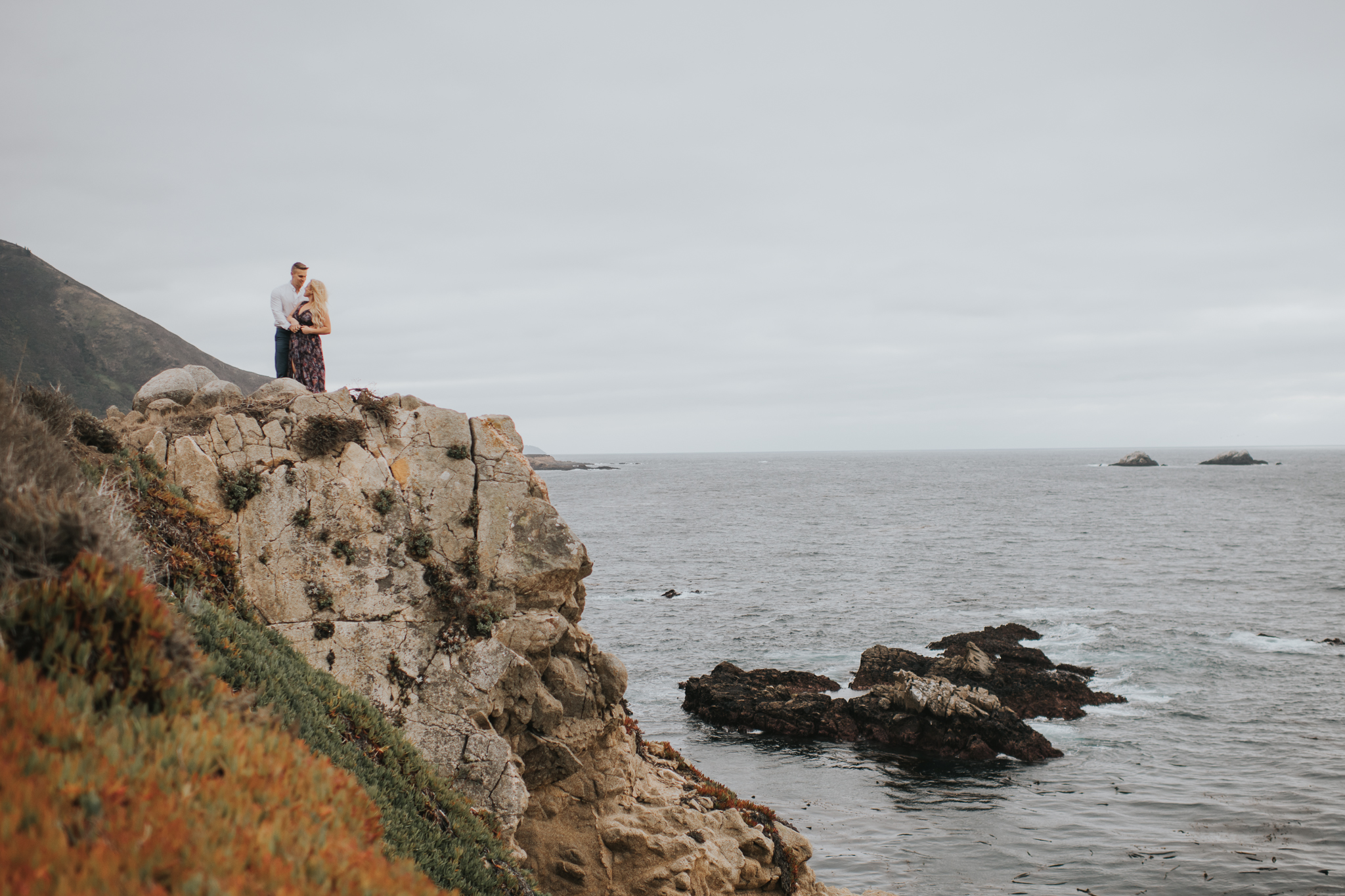 Big sur California Coast wedding elopment photographer
