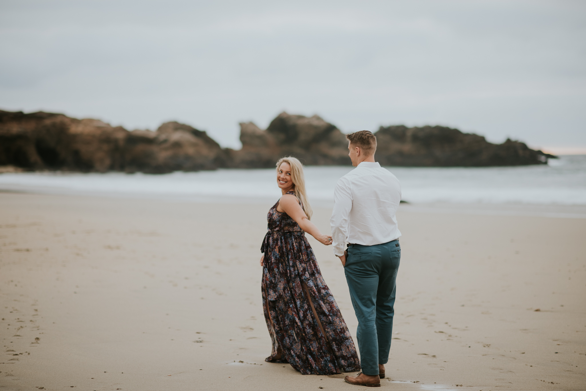 Big sur California Coast adventerous wedding elopment intimate wedding photographer