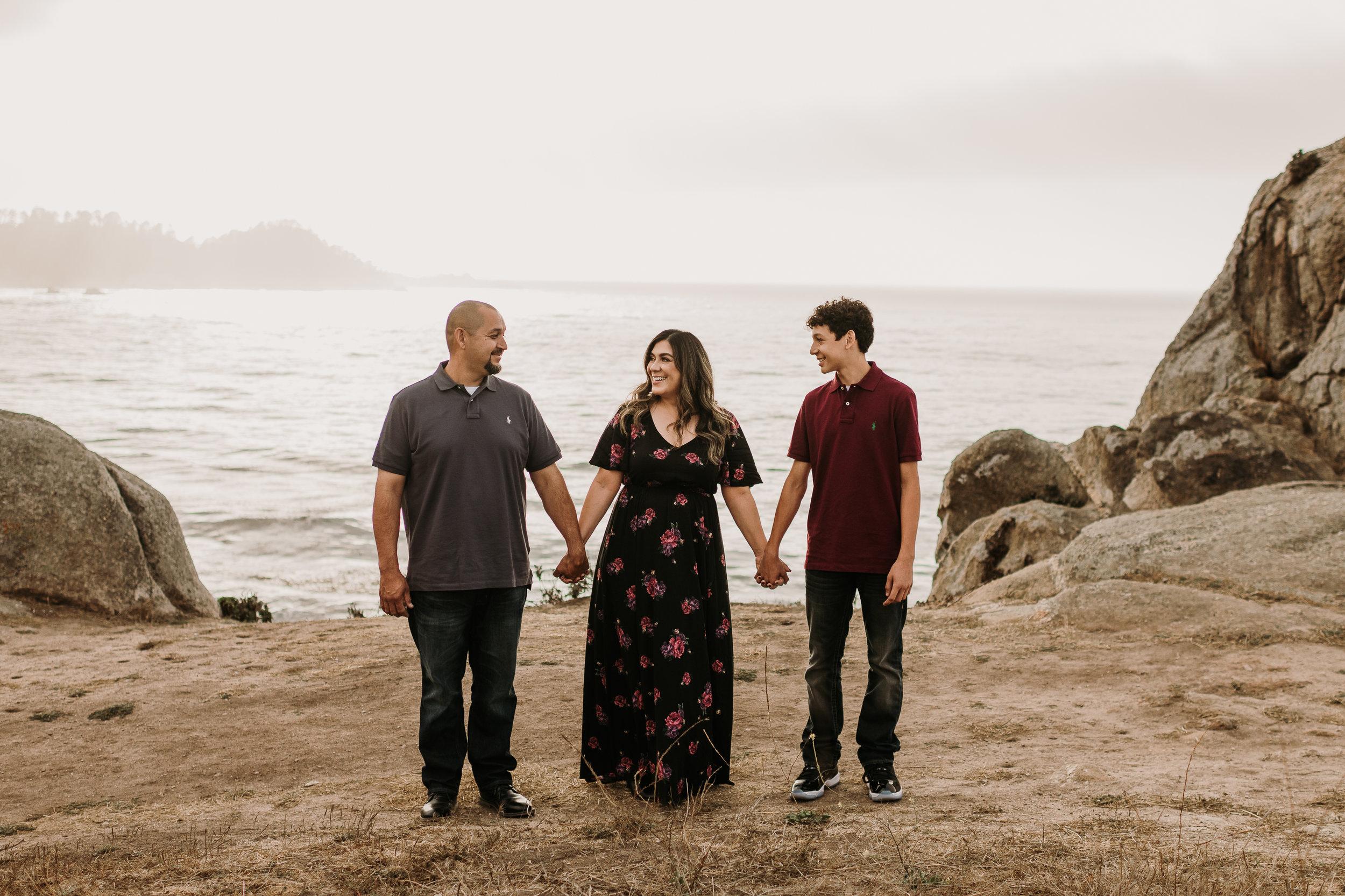 Family beach photos monterey