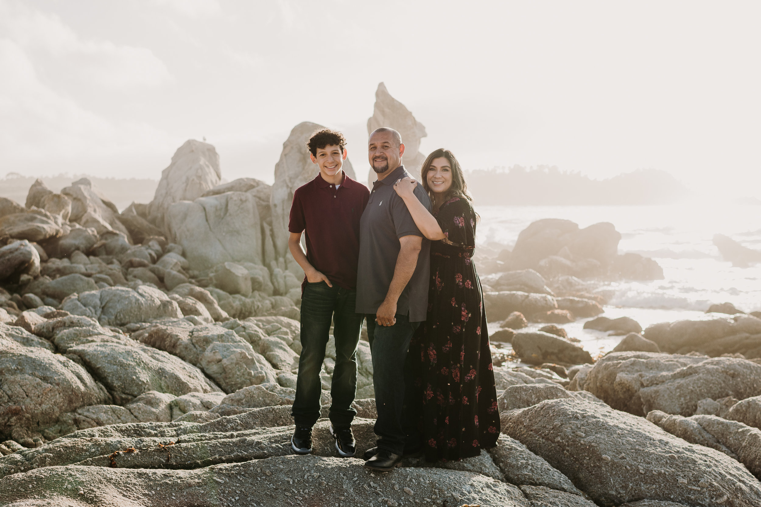 family beach photos monterey california