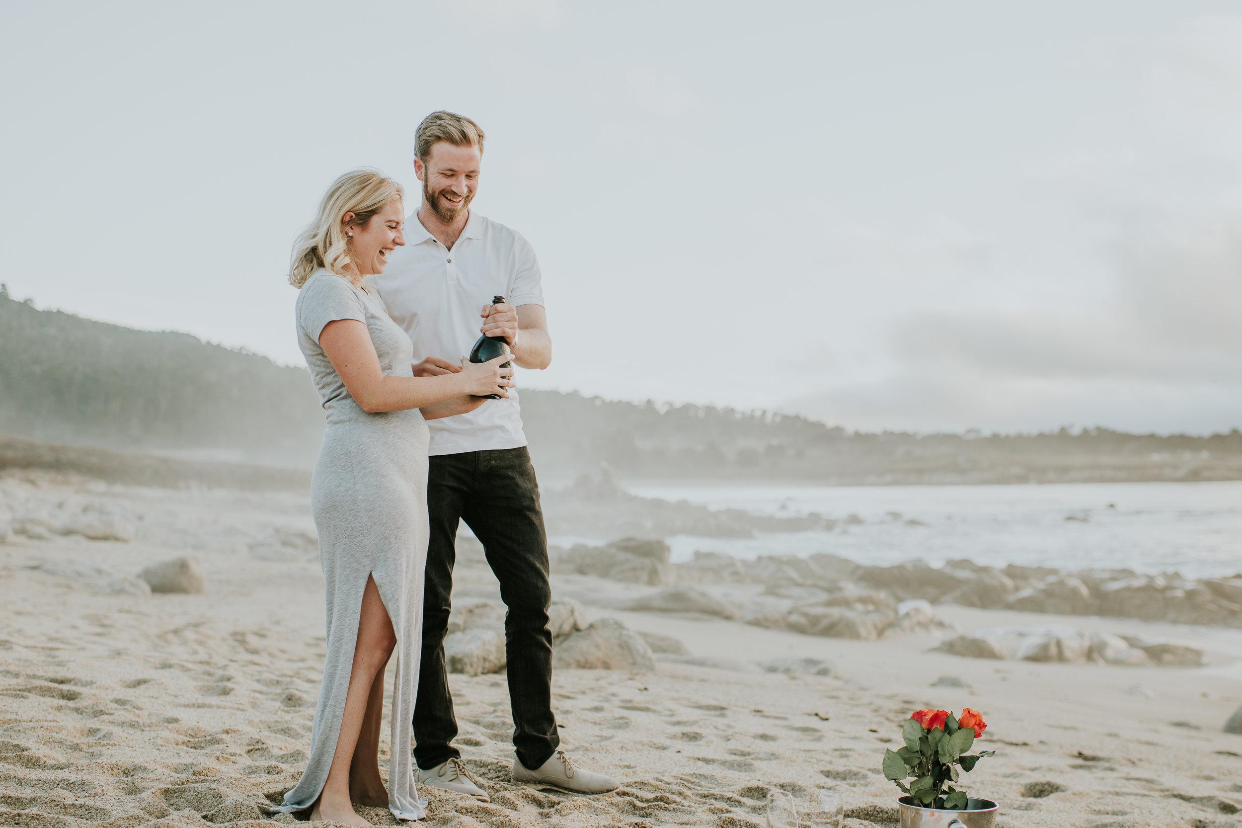 Big sur california coast surprise proposal photographer monterey carmel