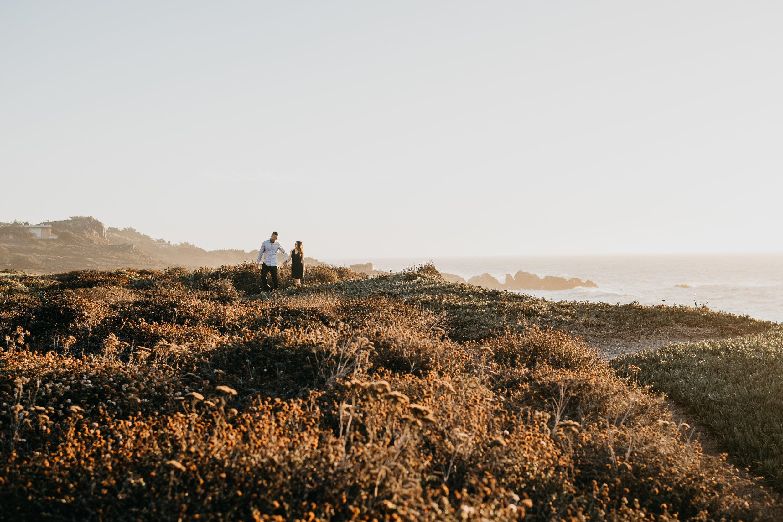 Big Sur adventureous proposal california coast photographer