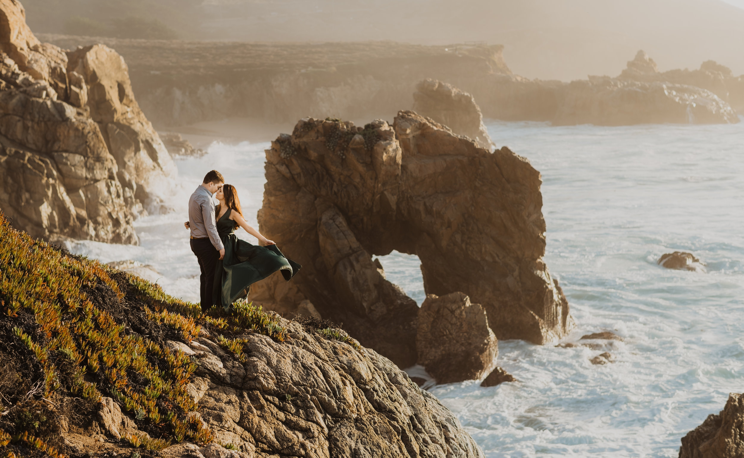 Adventure sessions: - From the Big Sur redwoods to the cliffs of the sea let's adventure together. For up to two hours let me be your tour guide, bring hiking boots and let me show you all my favorite hidden spots. $700 ( due to the dangerous nature of some locations, this is only for those 18 and older)