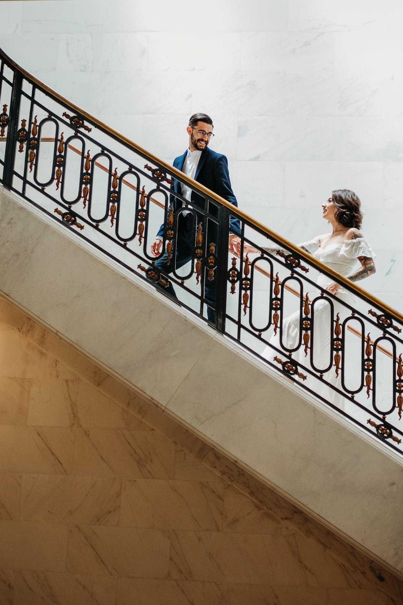 san francisco city hall elopement photographers