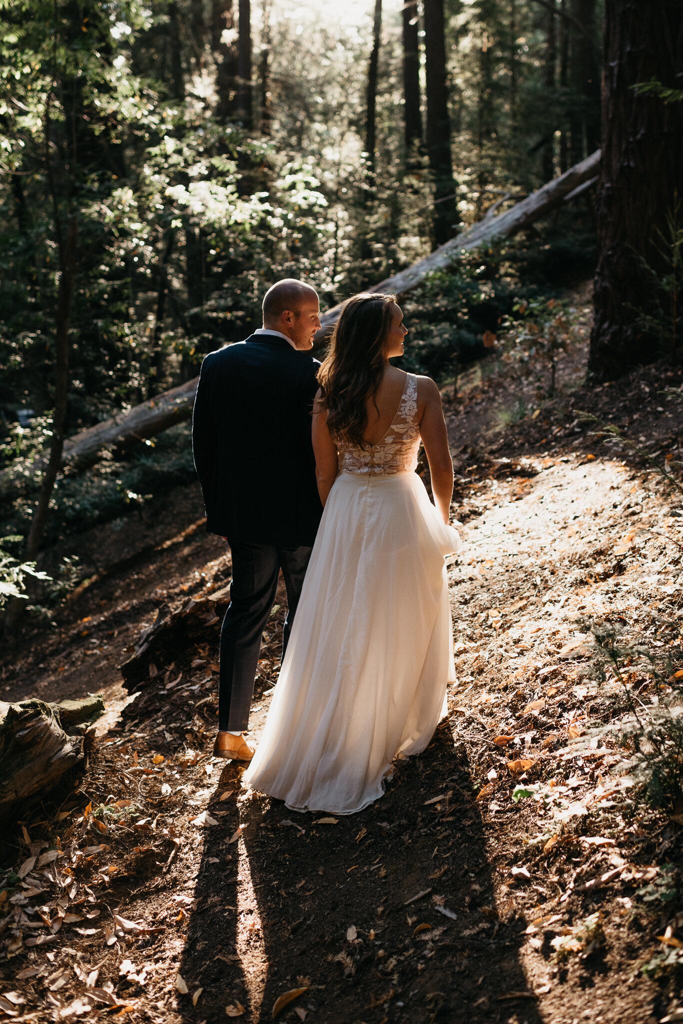Big Sur adventurous elopement photographer