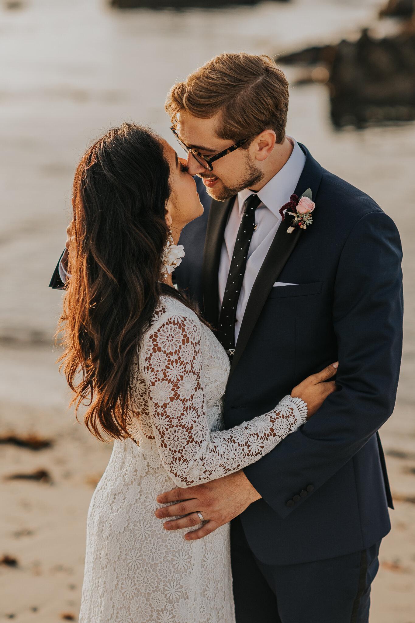 monterey beach wedding photographers