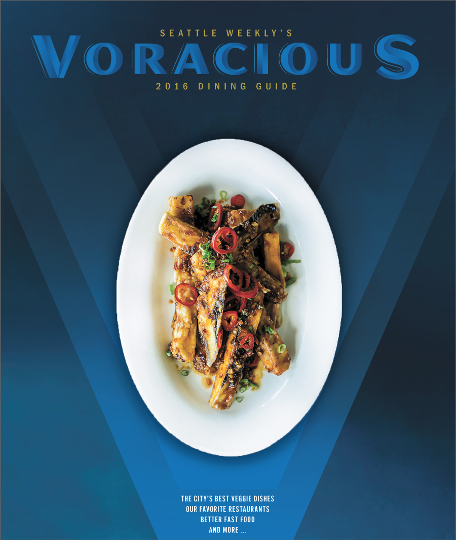 Voracious Dining Event 2016 - Annual event requiring digital and print ads,invitations and signage