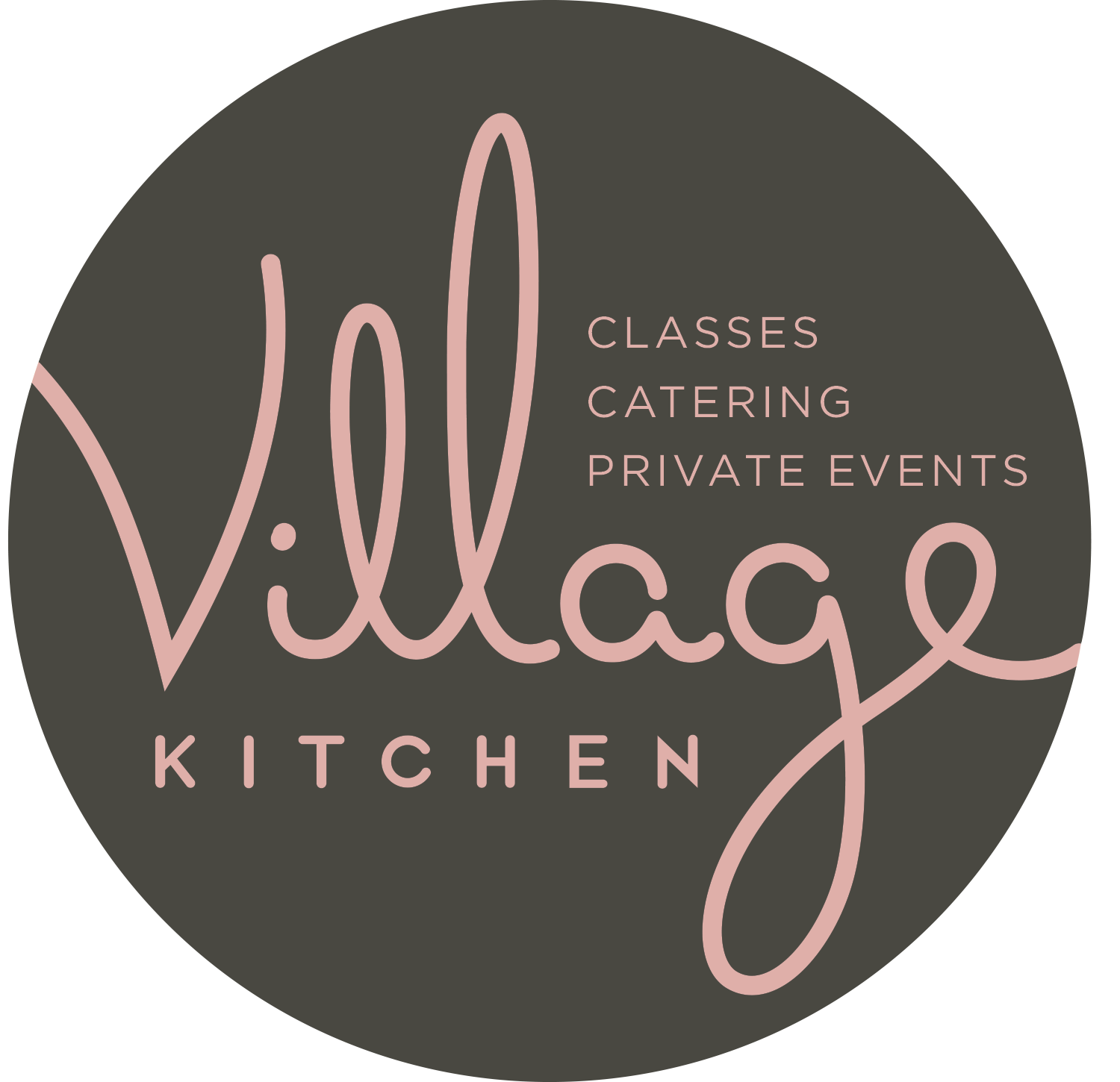 Village Kitchen/Sri Bella - Branding that spanned store front signage, stationary and food packaging for Amazon Go