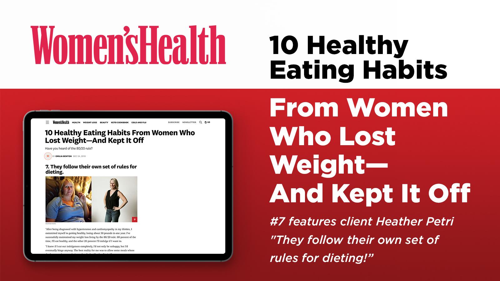 2018-12-21: Women's Health