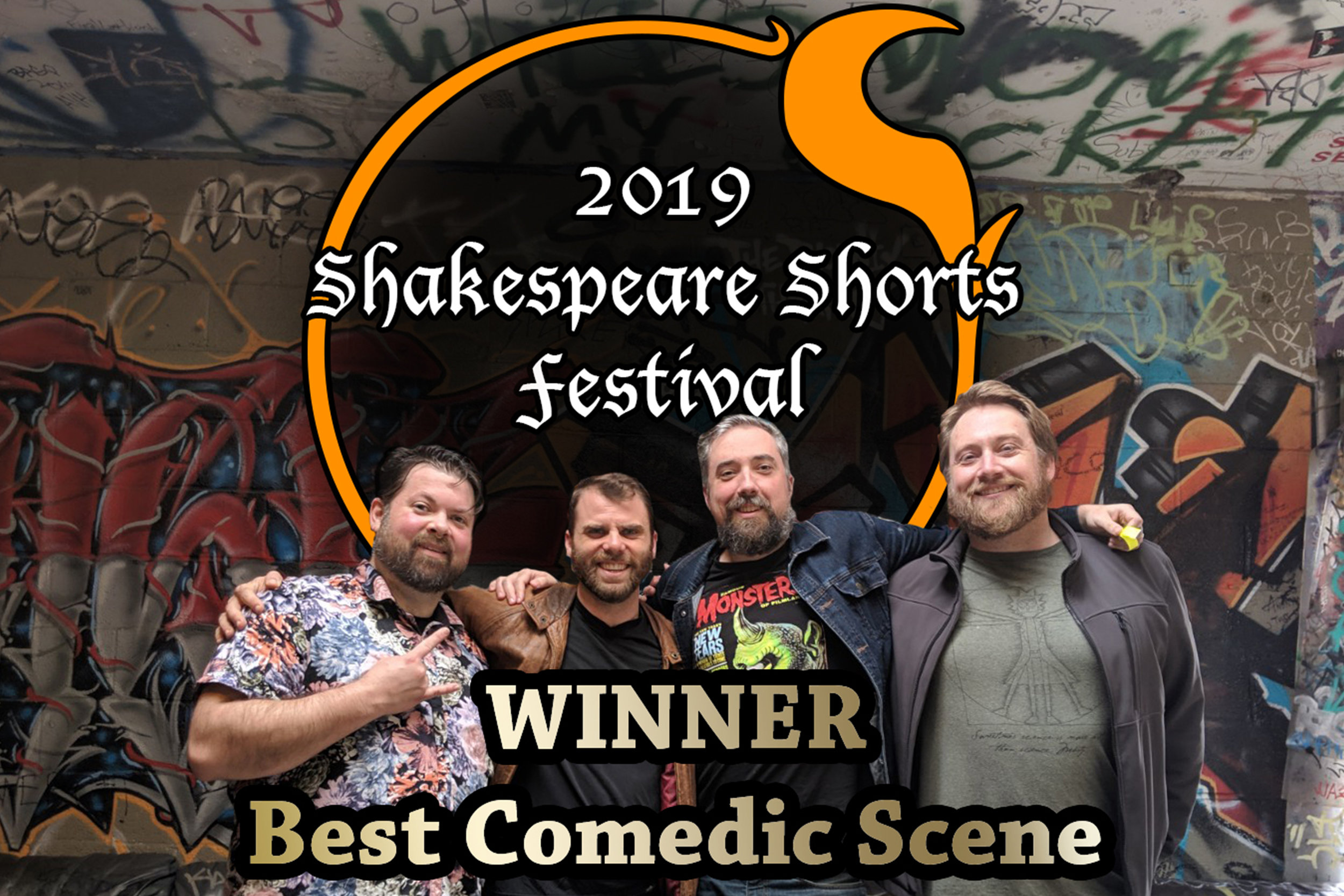 Fire Circle Wins Best Comedic Scene! - Fire Circle Theater takes home Best Comedic Scene at the 2019 Shakespeare Shorts Festival hosted by Petaluma Shakespeare Company! Check out some of the images from that day!