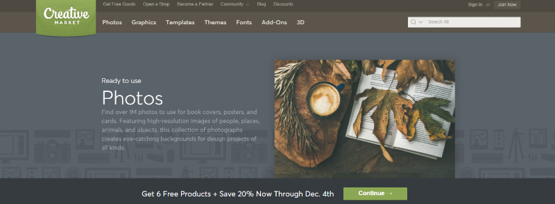 Where to find high quality stock photos for your creative business | Creative Market