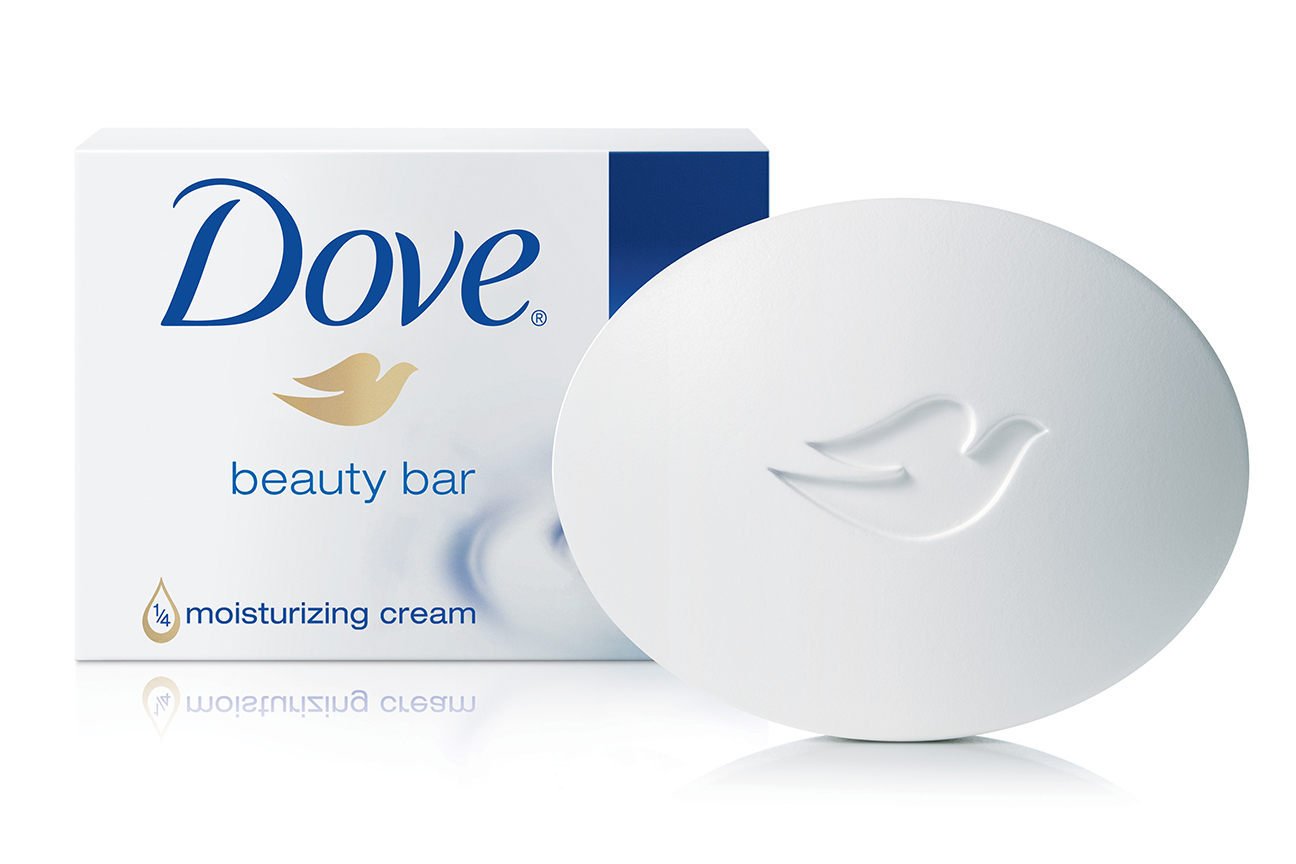 Dove Soap product labeling