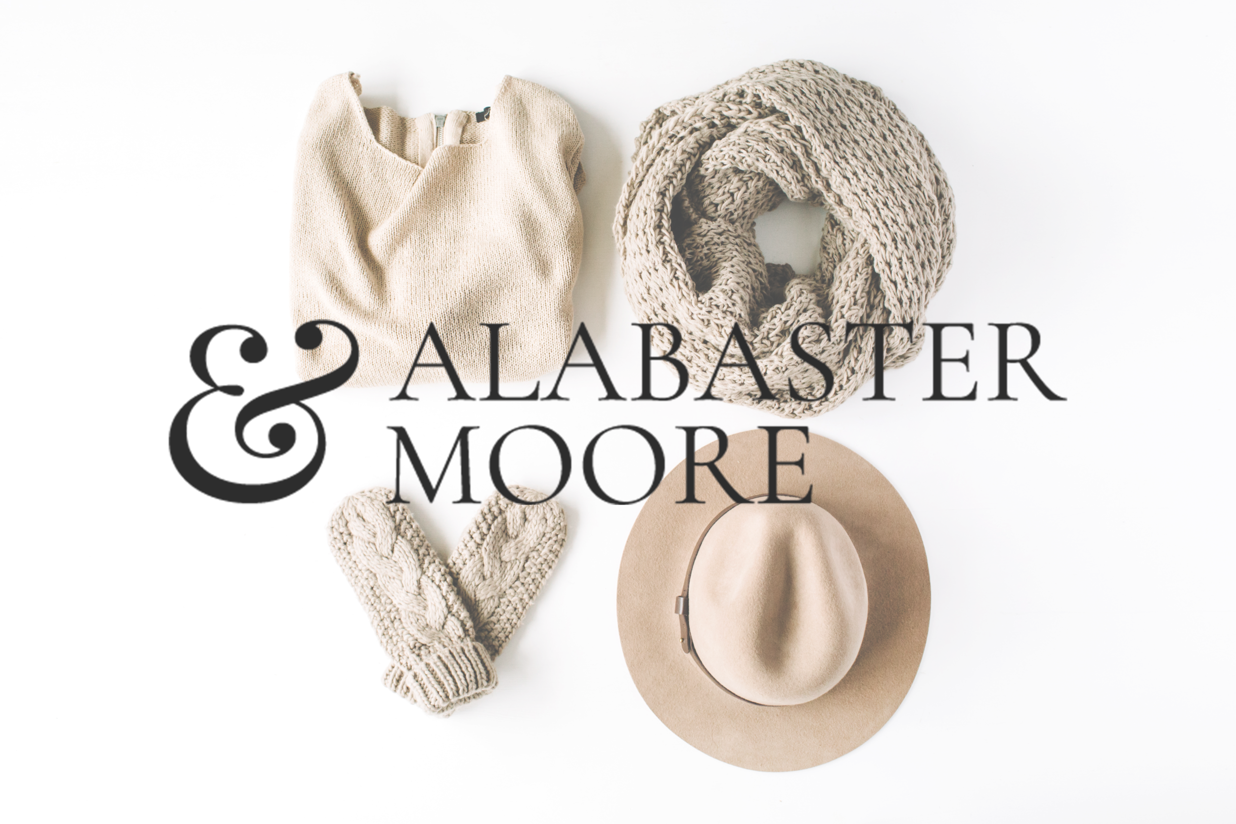 Alabaster and Moore Mockup