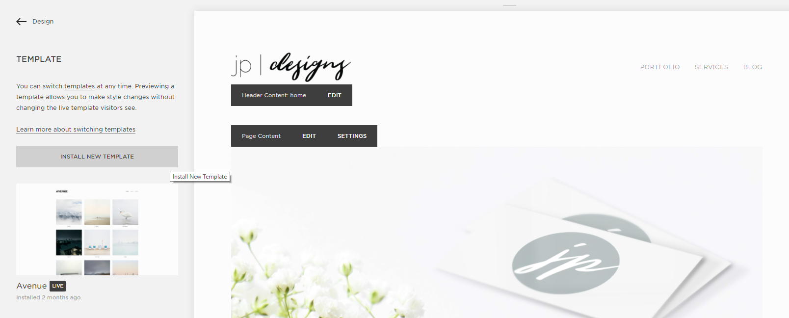 Step-by-Step Guide to Switching Your Squarespace Template   Install Template