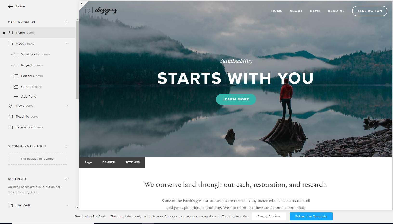Step-by-Step Guide to Switching your Squarespace Template   Demo Content