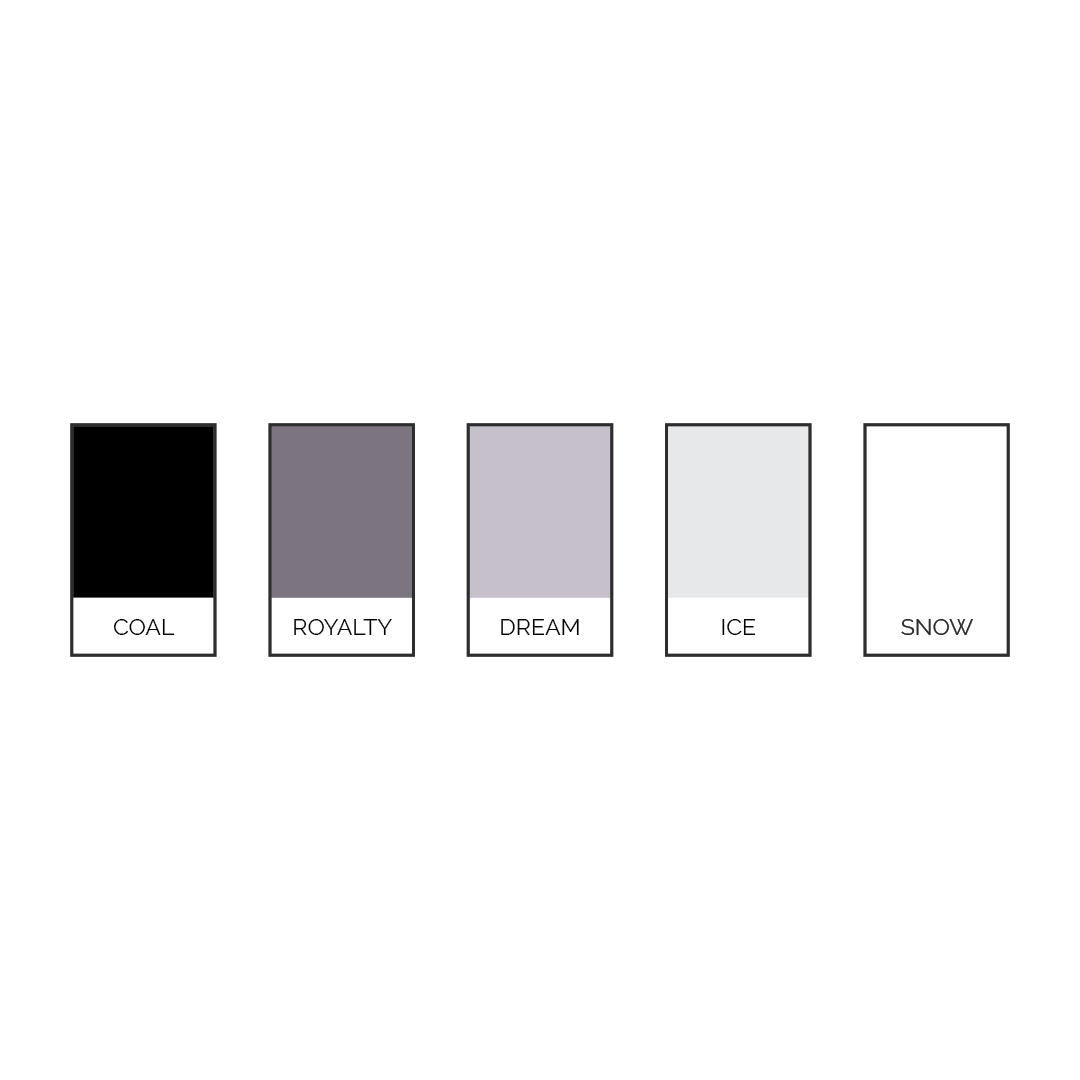Powerful and elegant color palette for Studio 62