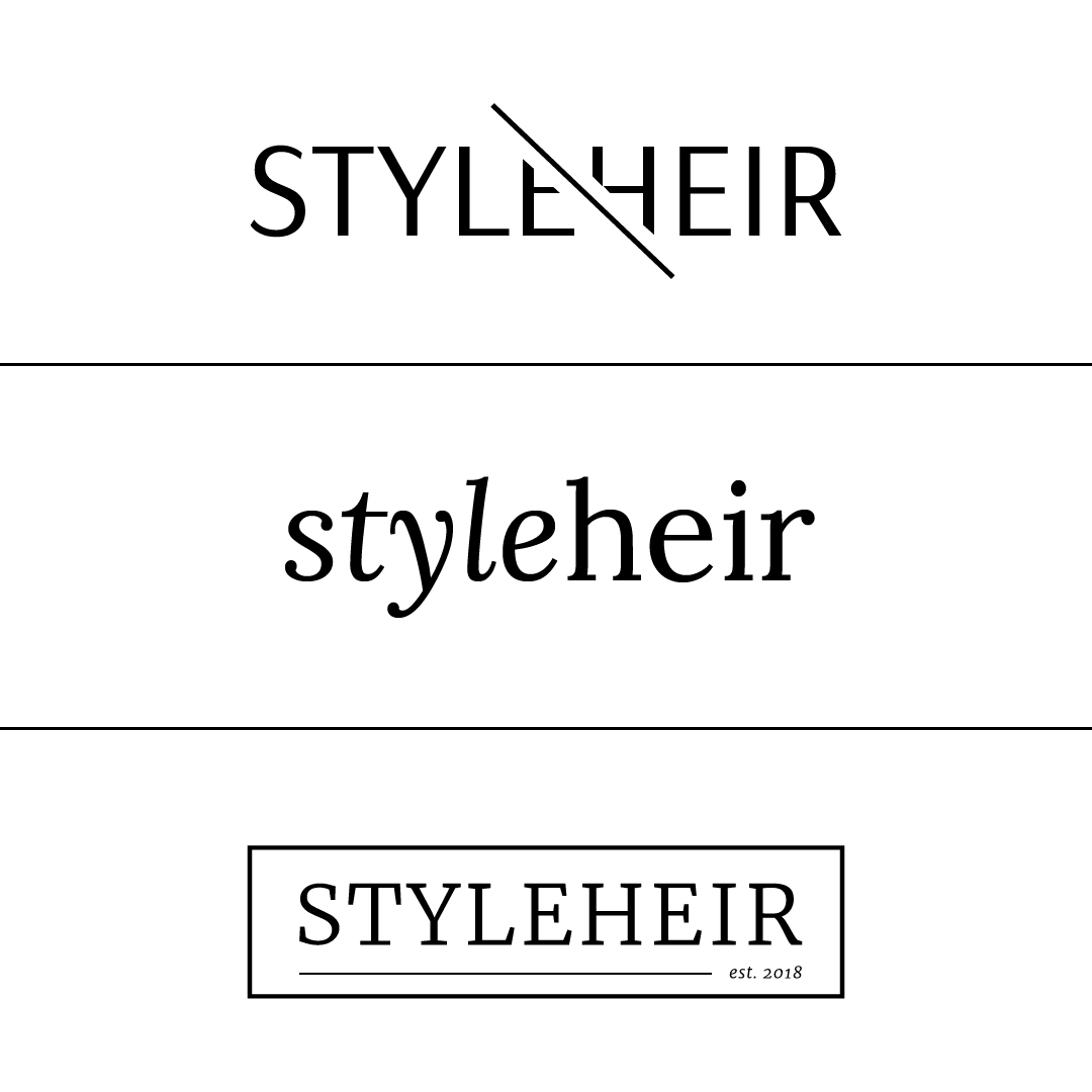 Design Spotlight | Initial Concepts for Styleheir