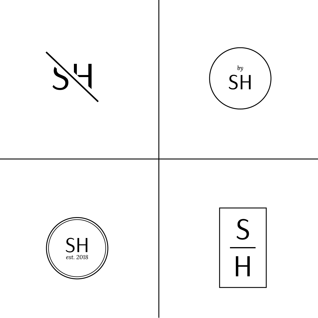 Design Spotlight: Styleheir secondary logo concepts