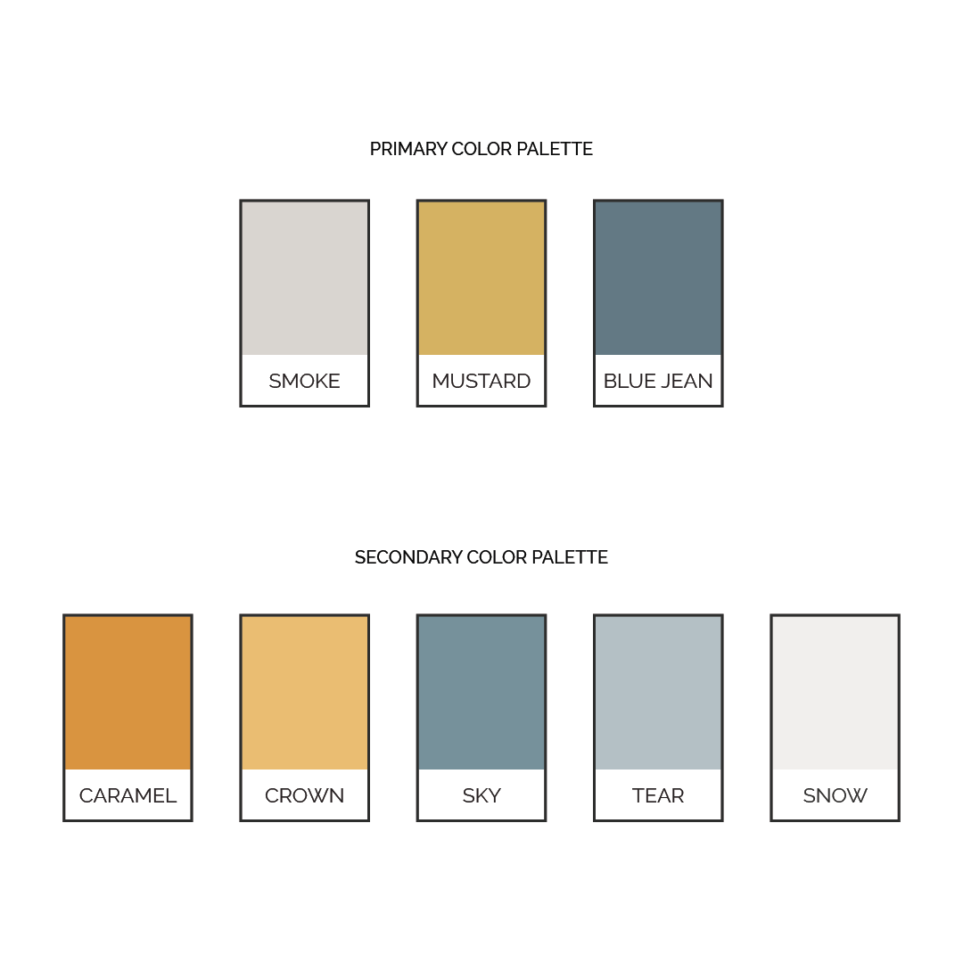 Implement Brand Color Palette | Categorize Colors