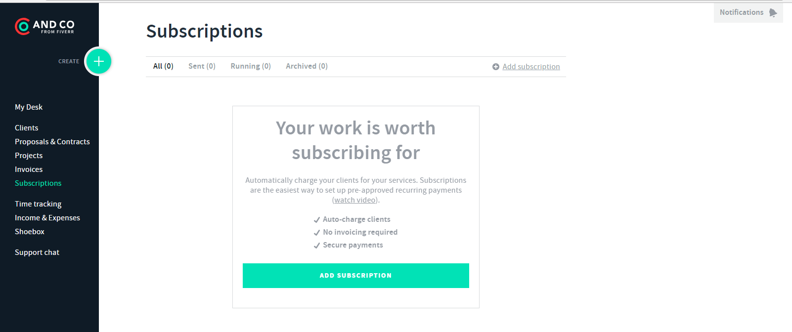 3 Business Tools I Couldn't Run My Business Without | Jordan Prindle Designs And.Co Subscription page