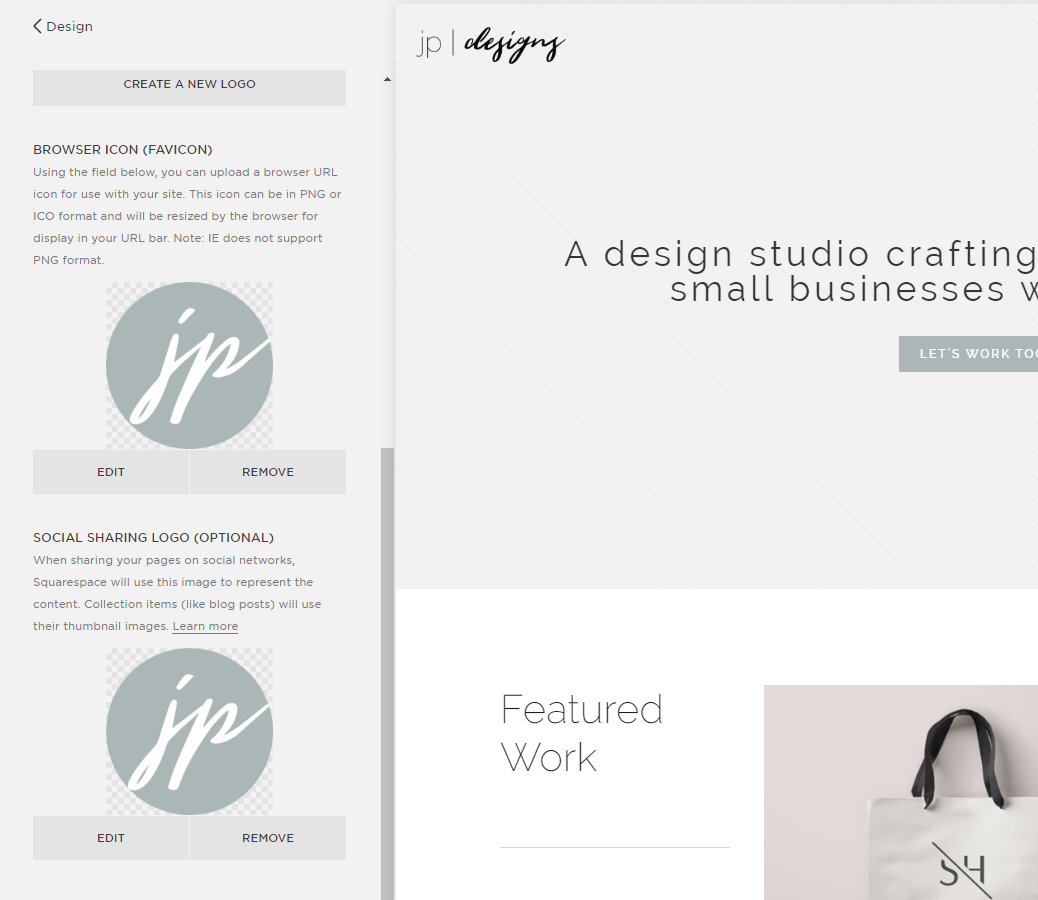 Creative Ways to Customize Your Squarespace Website | Add Favicon in Squarespace