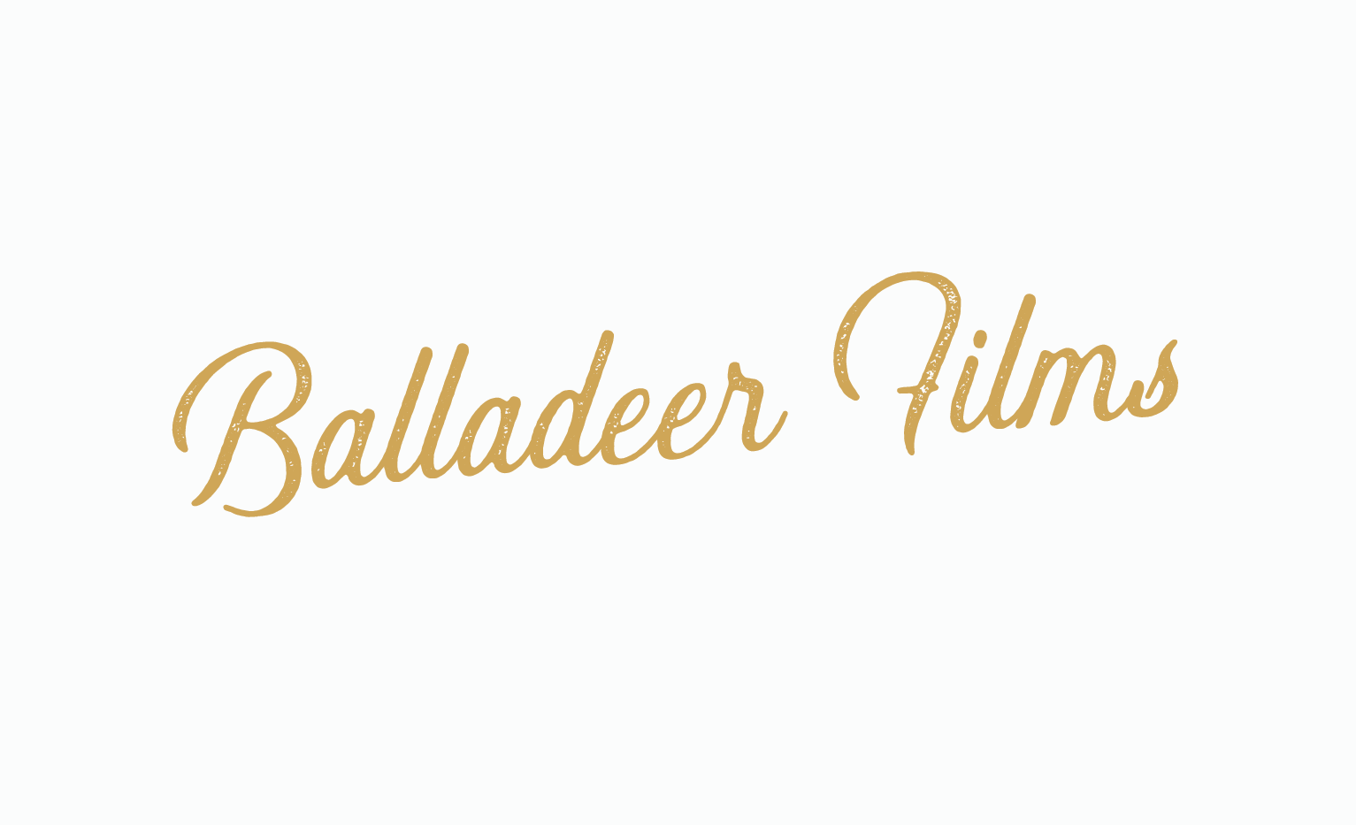 Balladeer Films Primary Logo by Jordan Prindle | Designs