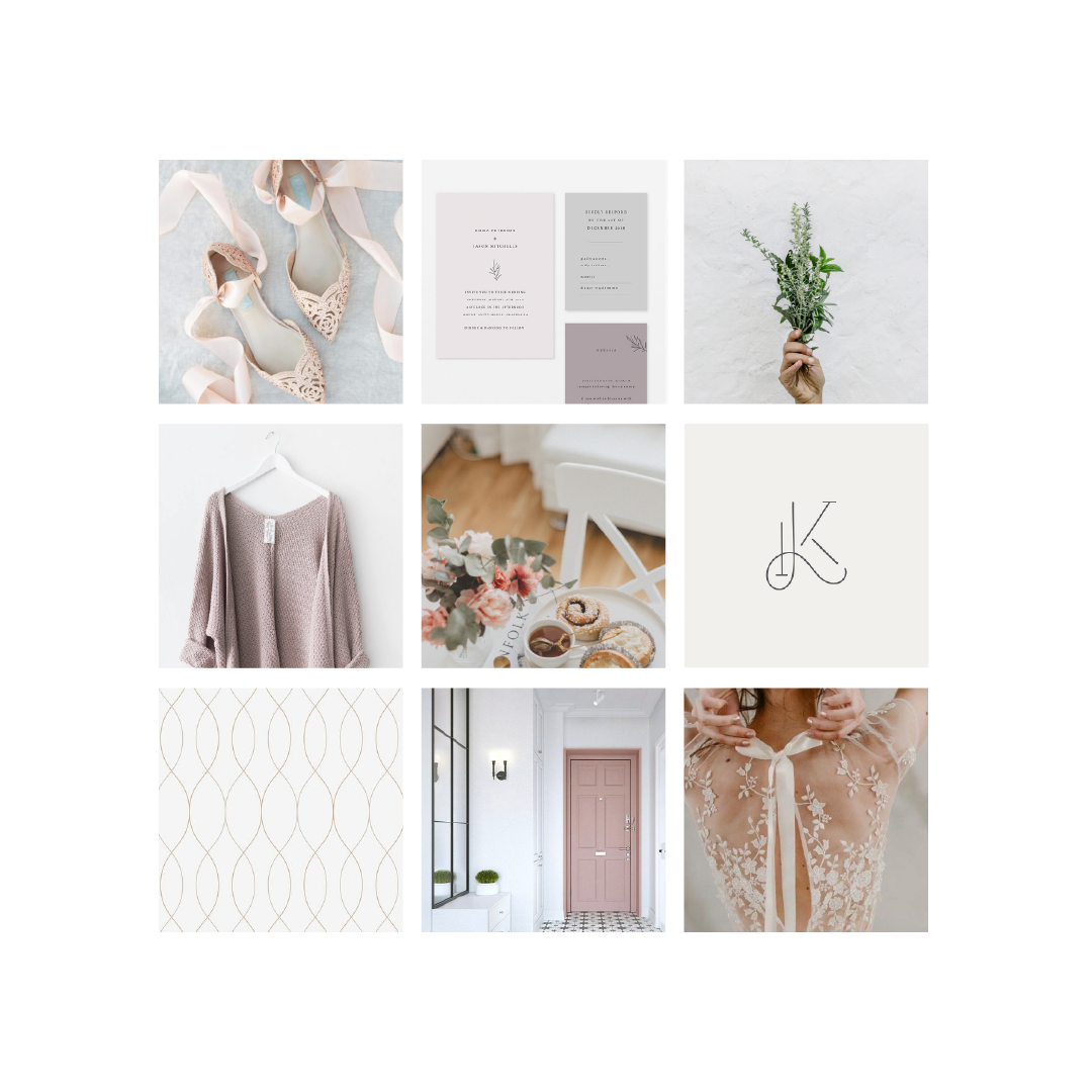 Kindred Weddings and Events Inspiration Board by Jordan Prindle Designs
