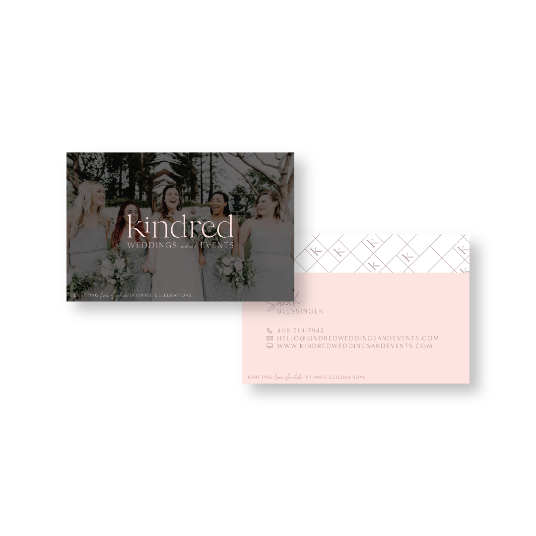 Kindred Weddings and Events Business Card by Jordan Prindle Designs.png