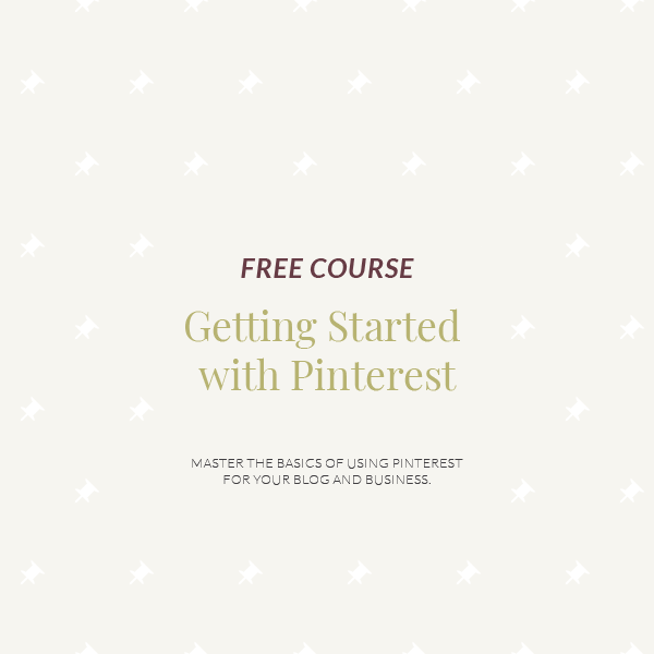 Getting Started with Pinterest | Educational Courses with Jordan Prindle Designs