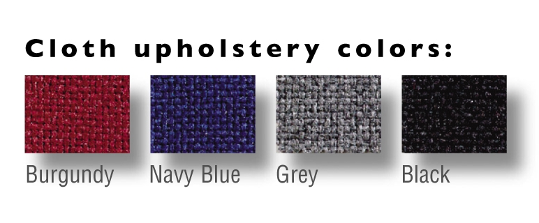 Brewer Cloth Colors available at no extra charge