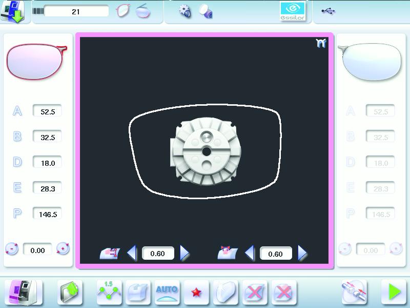 Edging Screen