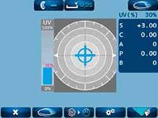 ALM 700 UV Transmittance Reading