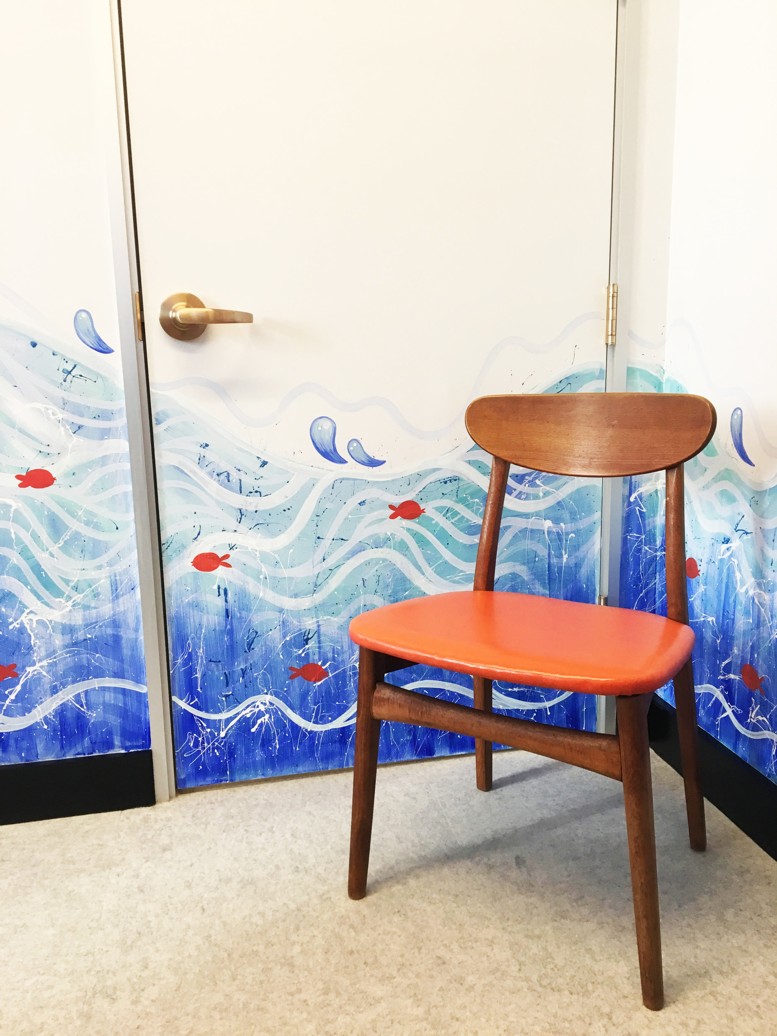 """This was a mural done for the Redbubble """"Sea Room""""in Downtown San Francisco."""