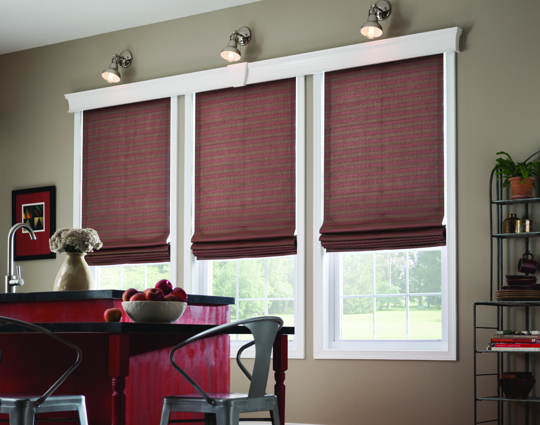 Roman Shades by Graber