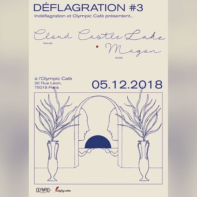 We're off to Paris on December 5th for our first ever gig in France at @olympiccafeparis. Support from @magonofficial. Prenez vos billets dans la bio ;)