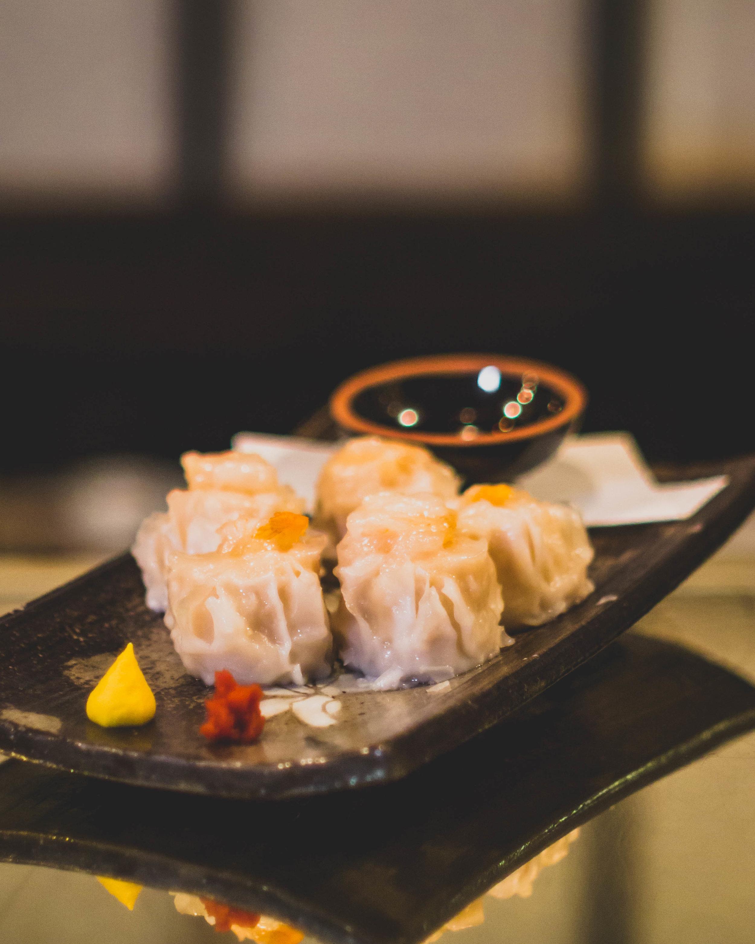 EBI SHUMAI* - Steamed shrimp shumai dumplings