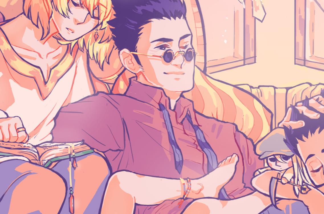 HxH Downtime Zine