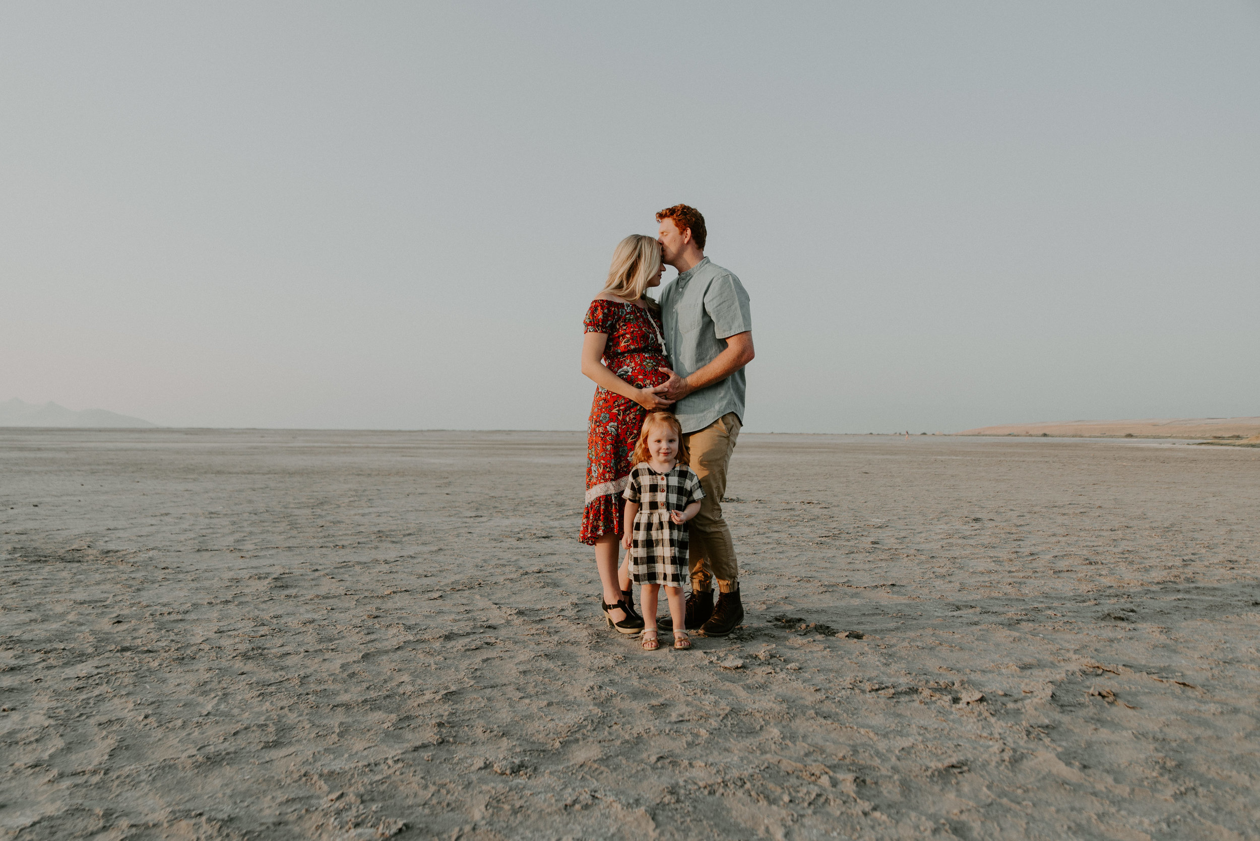 Salt Flats Family Photos