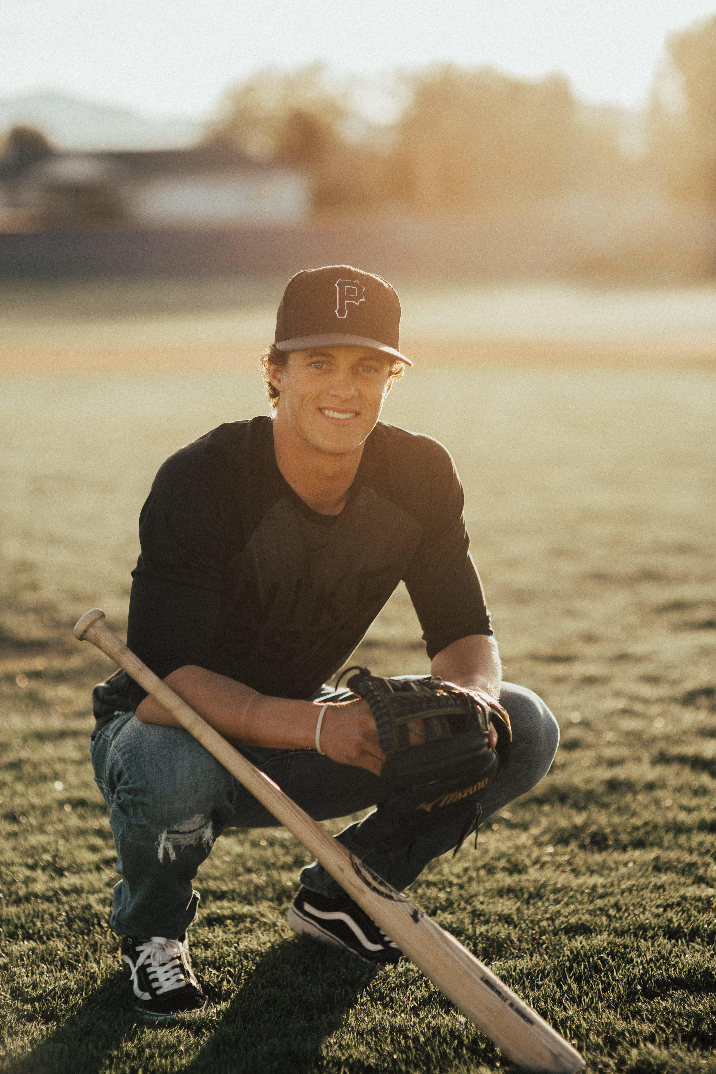 Baseball Senior Photograph